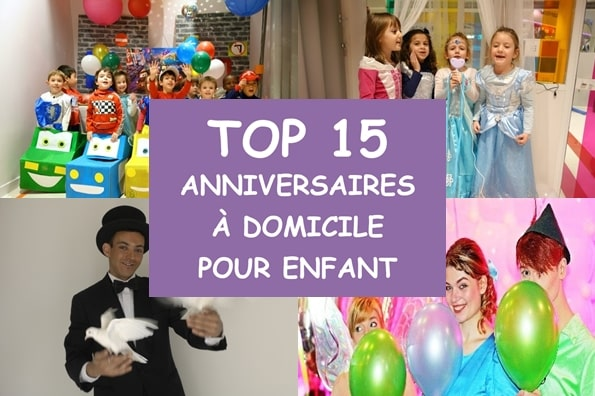 top 15 des animations a domicile pour organiser un anniversaire enfant magique blog kidsplanner. Black Bedroom Furniture Sets. Home Design Ideas