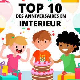top 10 des anniversaires en intérieur