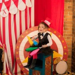 anniversaire cirque enfant bas age