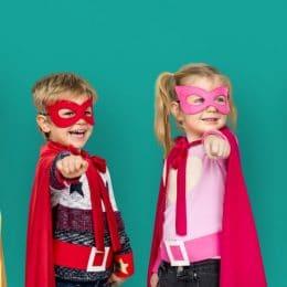 anniversaire enfant thème superhéros