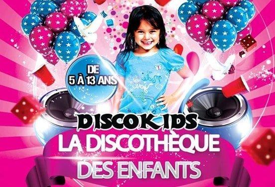 Anniversaire DiscoKids enfant 6 à 13 ans