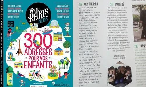 Vivre paris Kidsplanner