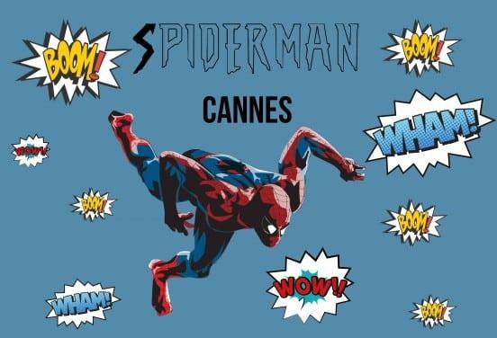 SpidermanCANNES