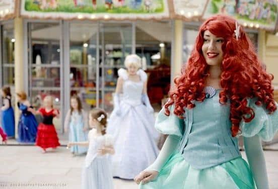 une_anniversaire petite sirene_princesses