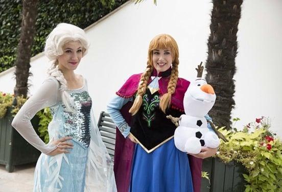 une_anniversaire reine des neiges_princesses