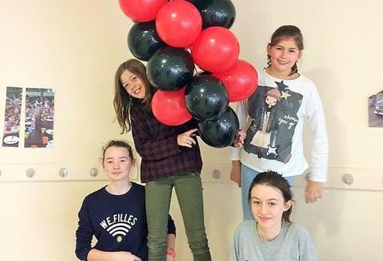 une_anniversaire sculpture ballon_amalgam