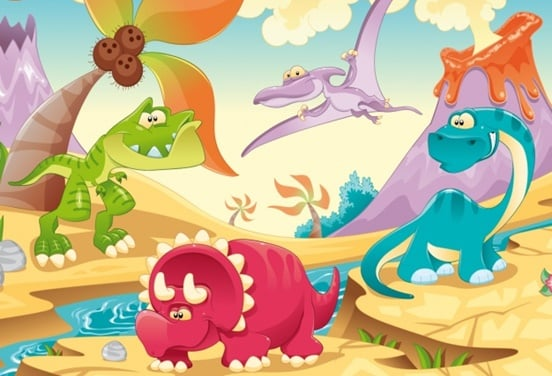 une_dinosaure_kidszanim