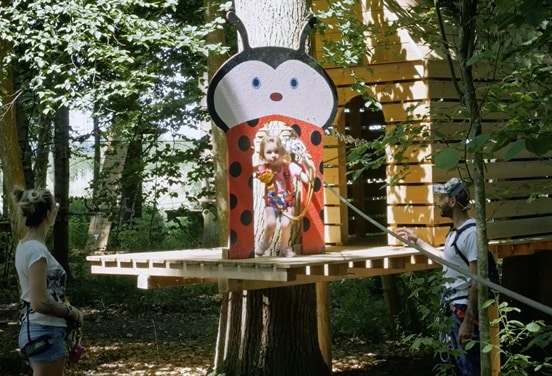 une_anniversaire accrobanche 3 ans_jumping forest