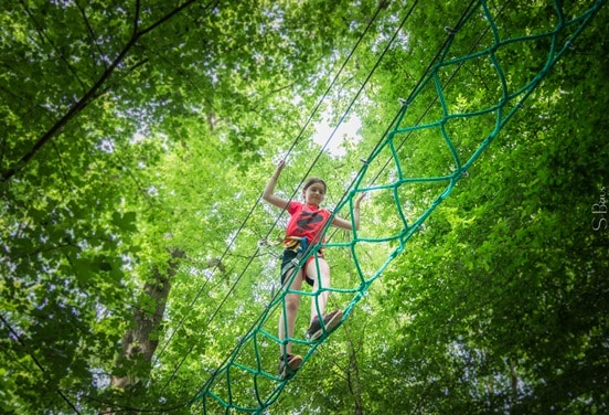 une_anniversaire3 accrobranche 9 ans_jumping forest