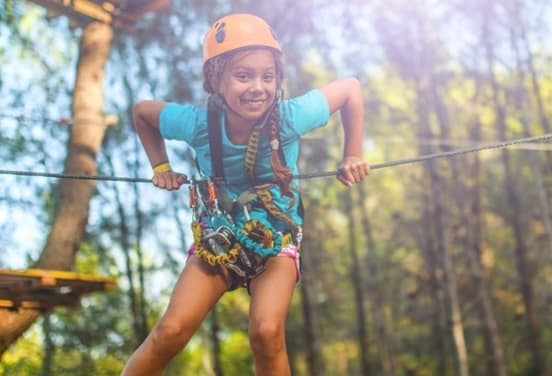 une_anniversaire4 accrobranche 9 ans_jumping forest