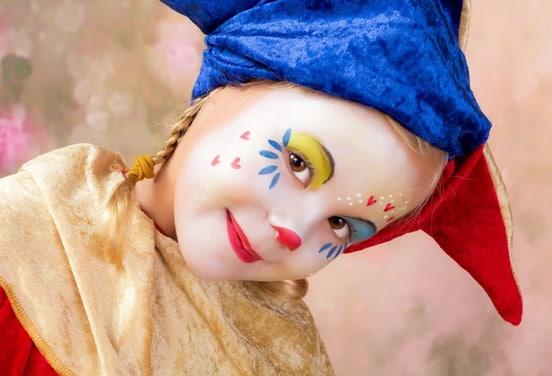 une_anniversaire clown_boite crayon