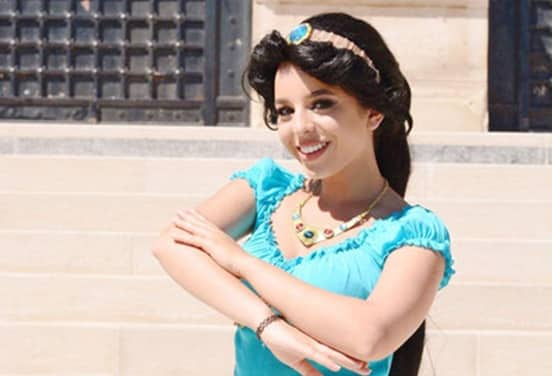 une_anniversaire jasmine_princesse