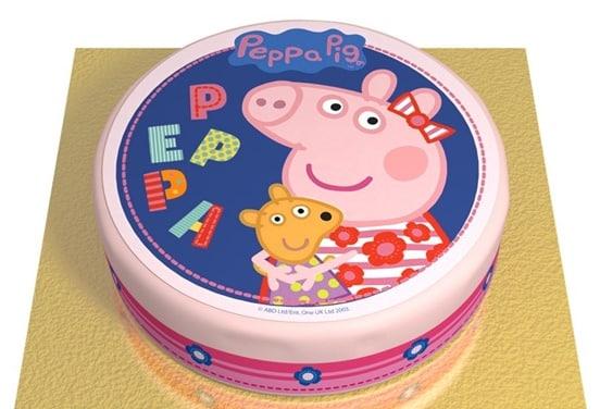 une_gateau peppa pig_annikids