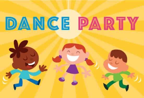 une_anniversaire dance party2_kangouroukids