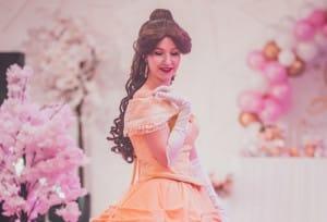 une_anniversaire princesse belle Bricman