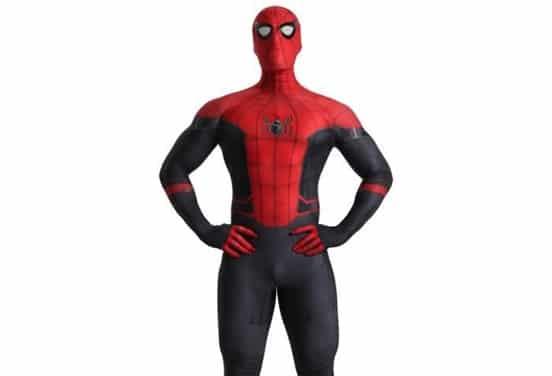 une_anniversaire mascotte spiderman_choren